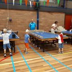 Internationale dag van het Tafeltennis op 6 april